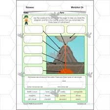 volcanoes features planbee single lesson plan
