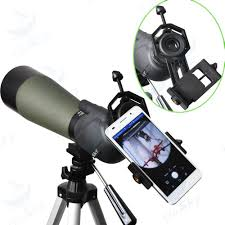 spotting scope window mount amazon com gosky universal cell phone adapter mount compatible