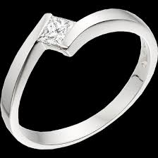 palladium engagement rings single twist engagement ring for women in palladium with a