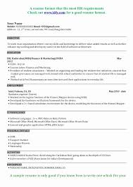 mba application resume format resume format for mba application new adorable resume for mba