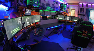 desk ultimate computer setups amazing pc gaming desk ergonomic