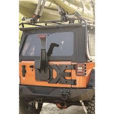 rugged ridge 11546 50 hd tire carrier kit 07 16 jeep wrangler jk