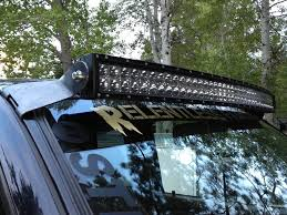 toyota tacoma light bar roof mount 1st gen led light bar ideas tacoma world