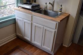 Kitchen Sinks For 30 Inch Base Cabinet by Kitchen Sink Base Unfinished Oak 48