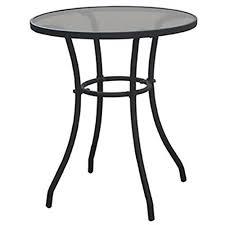 Black Metal Bistro Table Outdoor Bistro Tables