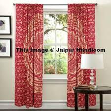 mandala hippie tapestry curtains u0026 window door drapes valances