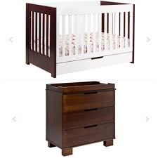 Babyletto Modo 3 In 1 Convertible Crib With Toddler Rail by For Sale 550 Babyletto Modern Mercer Crib Dresser Mattress
