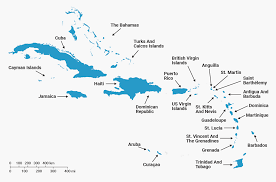 Show Me A Map Of The Caribbean by Best Caribbean Islands Chart Business Insider