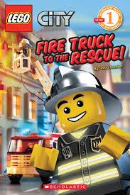 amazon com fire truck to the rescue lego city scholastic