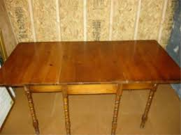 Brilliant Maple Drop Leaf Table Vintage Ethan Allen Harvest Table - Ethan allen drop leaf dining room table