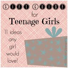 gift guide for teenage girls from this kitchen table