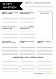 writer worksheet wednesday private symbolism writing worksheets