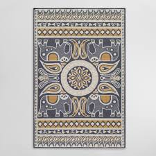 Monogrammed Rugs Outdoor by Indoor Outdoor Rugs U0026 Mats World Market