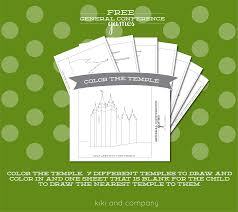 free general conference printables for kids free printable