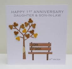 1st anniversary card ebay