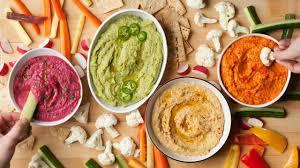 Hummus Kitchen Eat The Rainbow With This Healthy Hummus Recipe Made 4 Ways