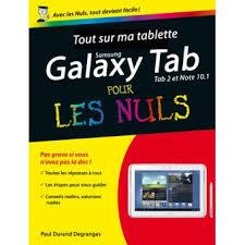 quel format ebook pour tablette android pour les nuls tout sur ma tablette samsung galaxy tab 2 et note