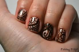 polishing it up henna designs nail style