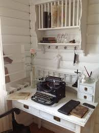 Shabby Chic Decorating Ideas Pinterest by Best 25 Shabby Chic Office Ideas On Pinterest Framed Burlap