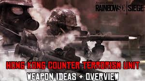 rainbow six siege hong kong c t u weapon ideas overview