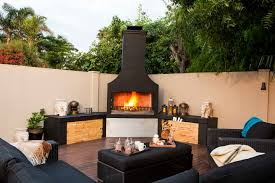 Finish Options Outdoor Wood Burning Fireplaces