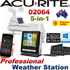 acurite wireless professional weather station 5 in 1 w colour