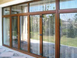 wooden and glass doors wood frame door and panel glass for sliding glass doors in your