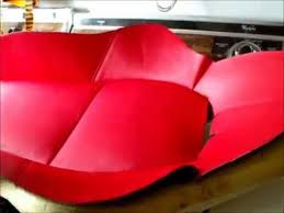 Car Seat Re Upholstery Car Seat Upholstery 2 Youtube