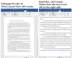 layout view zoom ms word for writers views and working in web layout qa productions