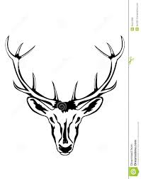 tribal stag tattoo tribal deer antlers fmd