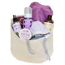 lavender gift basket organic baby gift basket purple gifts