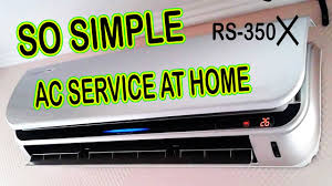 ac service at home so simple youtube