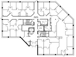 floor plan of a commercial building six sentry parkway building 630 korman commercial properties