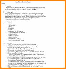 lab report template middle school 4 lab report format middle school marriage biodata