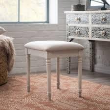 Perla Vanity Chair Bedroom Vanity Stools On Hayneedle Vanity Stools