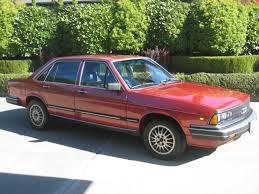 audi 5000 for sale audi 5000 turbo 4 door sedan 1983 burgundy for sale