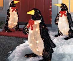 up penguin decorations