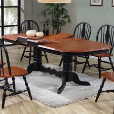 Two Pedestal Dining Table Dining Sets Oval Double Pedestal Dining Table With Double