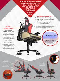 Ultimate Computer Chair Amazon Com Turismo Racing Ancora Series Gaming Chair Black And