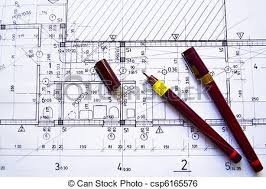 architectural plan stock image of architectural plan technical projec drawing