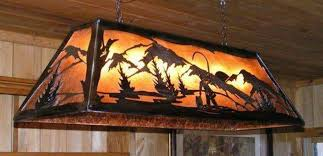 rustic country pool table light fixtures best pool table light