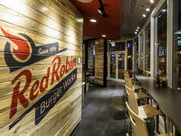 Red Robin Interior Red Robin Burger Works Blind Society