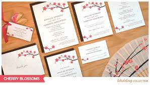 cherry blossom wedding invitations cherry blossoms catalog botanical paperworks