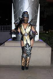 mortal kombat scorpion female costume google search cosplay