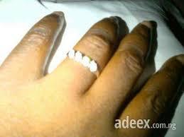 wedding rings nigeria modern wedding rings happy newlyweds affordable engagement rings
