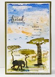 wildlife treasury cards layers of ink wildlife birthday card