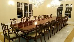 Antique Reproduction Solid Mahogany Chippendale Dining Chairs - Chippendale dining room furniture