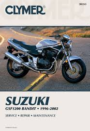 gsf1200 bandit motorcycle 1996 2003 service repair manual