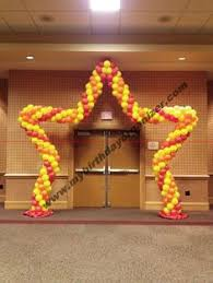 sweet 16 balloon arch sweet 16 balloon u0026 event decor pinterest