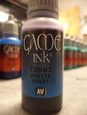 Vallejo Game Color Wash - vallejo game color acrylic paint ink wash 17ml violet 72087 ebay